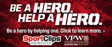 Sport Clips Haircuts of Alexandria - Plaza 28 ​ Help a Hero Campaign